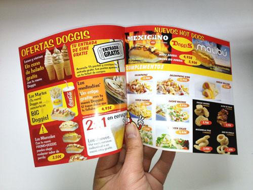 Diseño gráfico flyers en Murcia